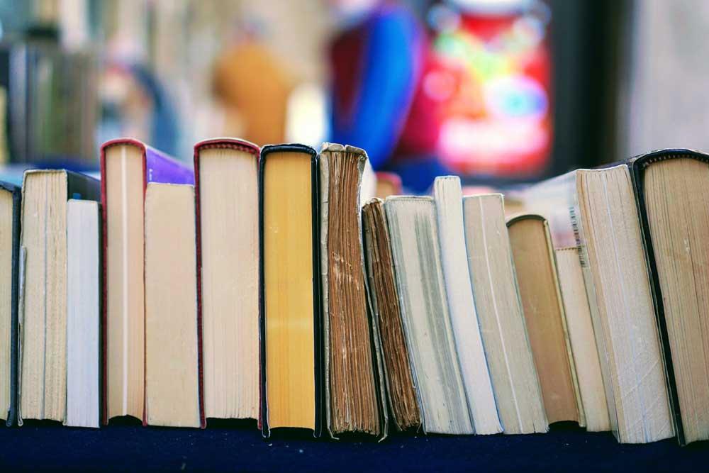 Livros para vida universitária.